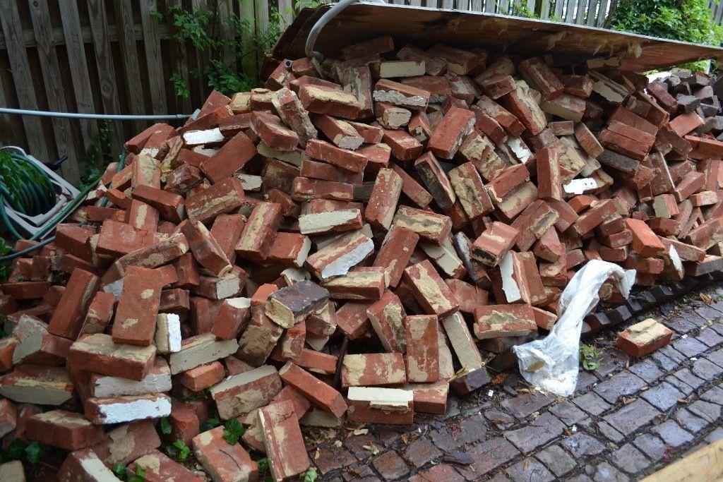 bulk removal of house bricks